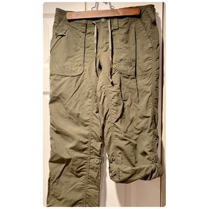 The North Face roll-up hiking pants